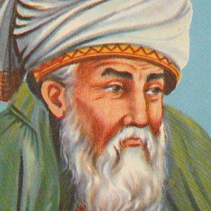 Poet Rumi - age: 66
