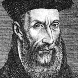 Poet Nostradamus - age: 62