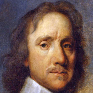 Politician Oliver Cromwell - age: 59