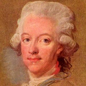 Royalty Gustav III - age: 61