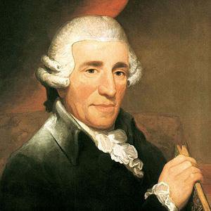Composer Joseph Haydn - age: 77
