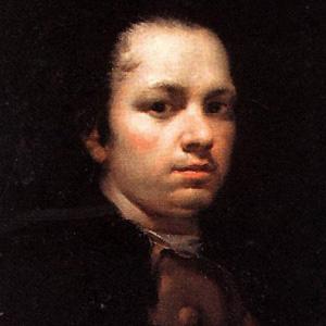 Painter Francisco Goya - age: 82