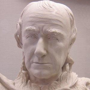 Sculptor William Rush - age: 76