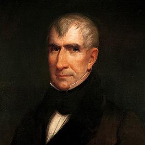 US President William Henry Harrison - age: 68