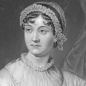 Novelist Jane Austen - age: 41