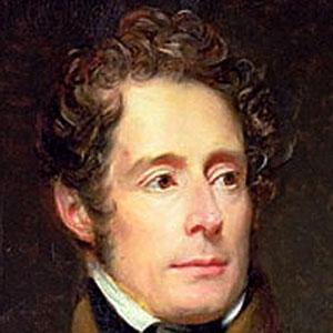 Poet Alphonse de Lamartine - age: 78