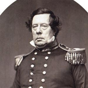 War Hero Commodore Matthew Perry - age: 63