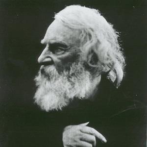 Poet Henry Wadsworth Longfellow - age: 75