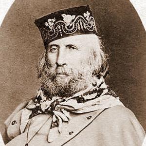 War Hero Giuseppe Garibaldi - age: 74