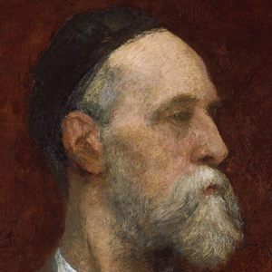 Sculptor George Frederic Watts - age: 87