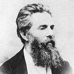 Novelist Herman Melville - age: 72