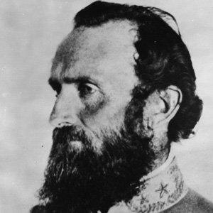 War Hero Thomas Stonewall Jackson - age: 39