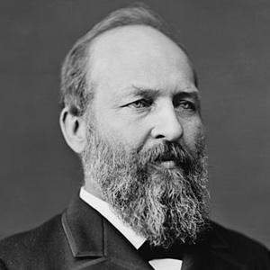 US President James A. Garfield - age: 49