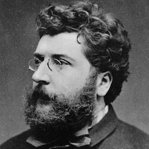 Composer Georges Bizet - age: 36