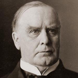 US President William McKinley - age: 58