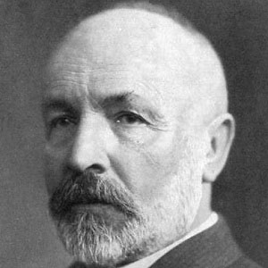 Mathematician Georg Cantor - age: 72