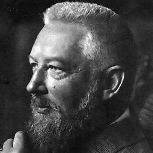 Scientist Wilhelm Ostwald - age: 78