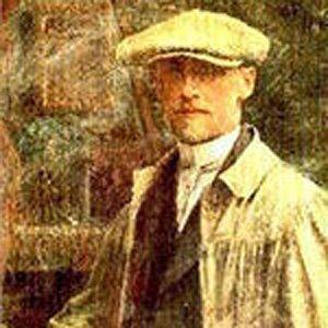 Painter Vlaho Bukovac - age: 66