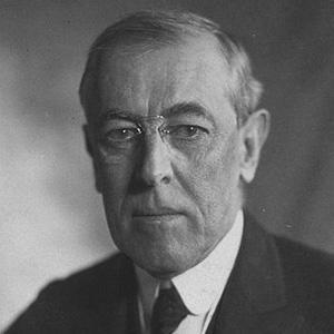 US President Woodrow Wilson - age: 67