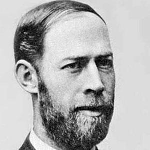 Scientist Heinrich Hertz - age: 36