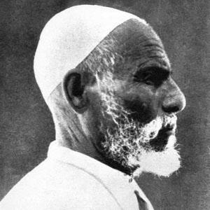War Hero Omar Mukhtar - age: 73