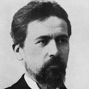 Playwright Anton Chekhov - age: 44