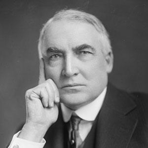 US President Warren G. Harding - age: 57