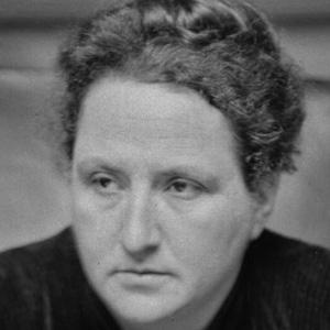 Novelist Gertrude Stein - age: 72
