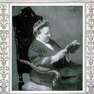 Poet Amy Lowell - age: 51