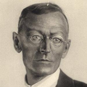 Poet Hermann Hesse - age: 85