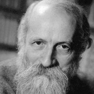 Philosopher Martin Buber - age: 87