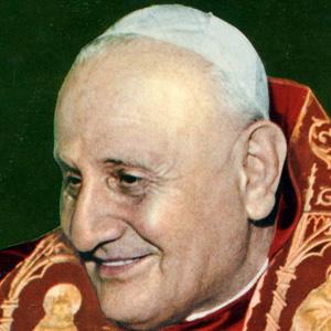 Religious Leader Pope John XXIII - age: 81