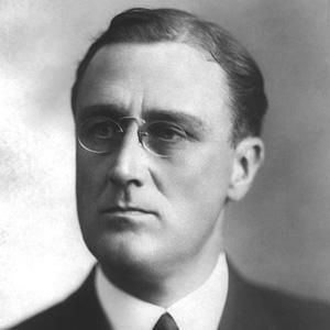 US President Franklin D Roosevelt - age: 63