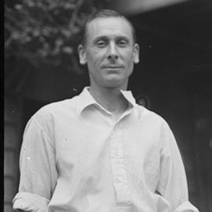 Cricket Player Jack Hobbs - age: 81