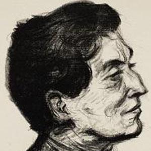 Composer Alban Berg - age: 50