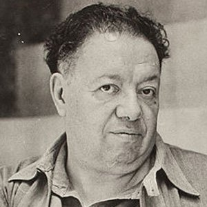 Painter Diego Rivera - age: 70