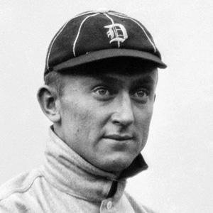 baseball player Ty Cobb - age: 74