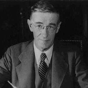 Scientist Vannevar Bush - age: 84