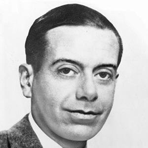 Songwriter Cole Porter - age: 73