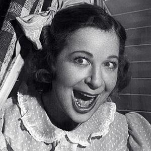 Comedian Fanny Brice - age: 59