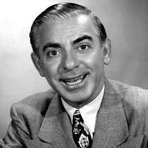 Stage Actor Eddie Cantor - age: 72