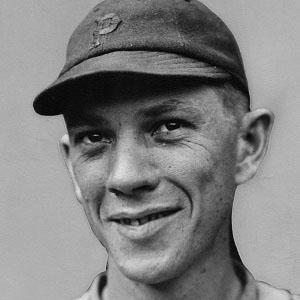 baseball player Wilbur Cooper - age: 81