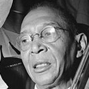Bassist Pops Foster - age: 77