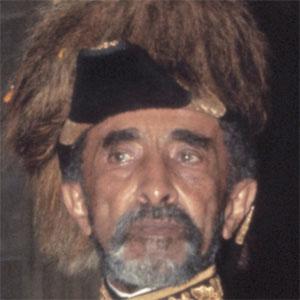 World Leader Haile Selassie - age: 83