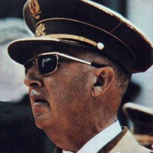 World Leader Francisco Franco - age: 82