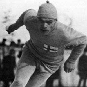 Speed Skater Clas Thunberg - age: 80