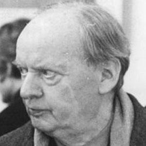 Architect Hans Scharoun - age: 79
