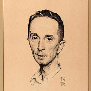 Painter Norman Rockwell - age: 84