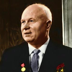 World Leader Nikita Khrushchev - age: 77
