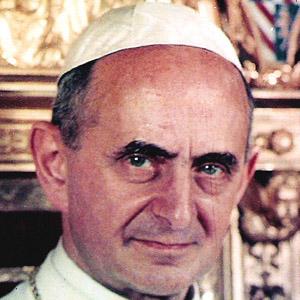 Religious Leader Pope Paul VI - age: 80